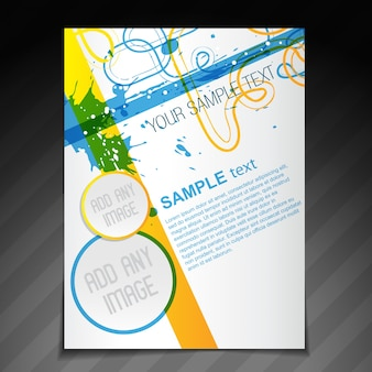 Stylish brochure template