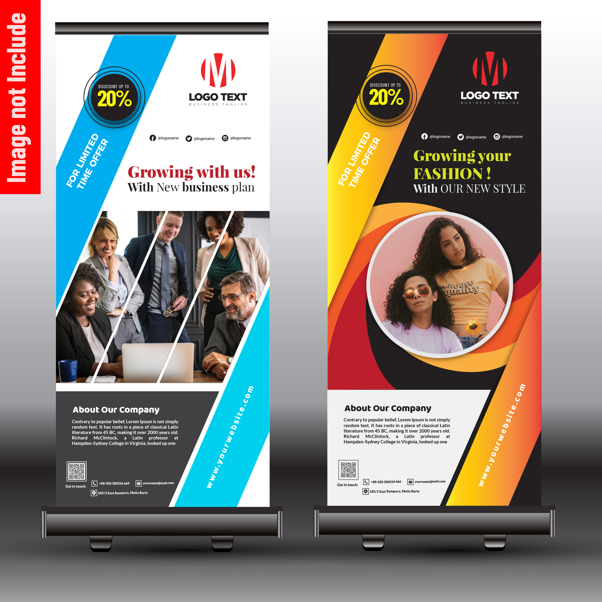 Stylish Business Roll up Banner