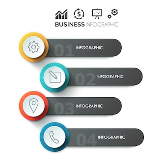 Stylish circle timeline process history mindmap business infographics template. web site infographic background concepts collection.