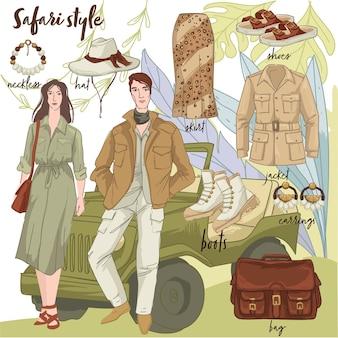 Стильная одежда и тенденции, модная одежда для мужчин и женщин.