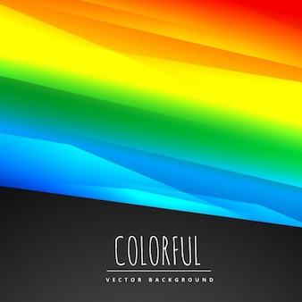 Elegante sfondo colorato