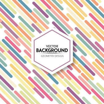 Stylish colorful gradient wave lines background design