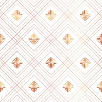スタイリッシュな装飾的なシームレスパターン