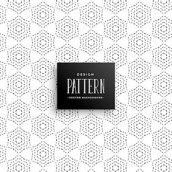 세련 된 도트 추상 패턴 배경