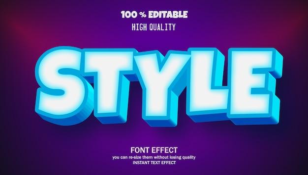 세련된 편집 가능한 글꼴 효과