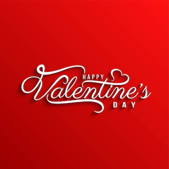 Stylish elegant happy valentine's day background