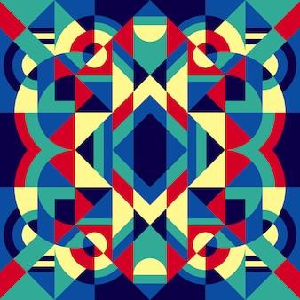 Stylish geometric seamless pattern