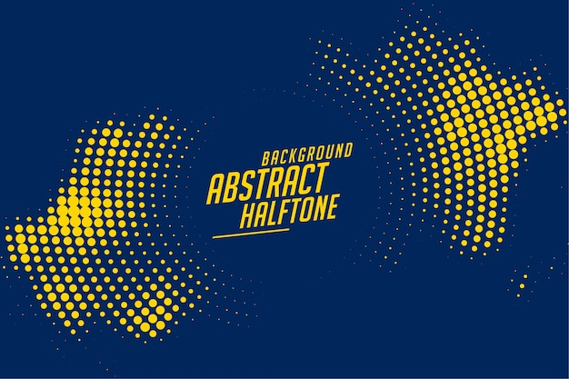 Stylish halftone background in circular shape