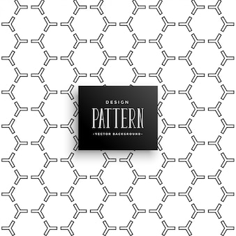 Stylish hexagonal pattern  background