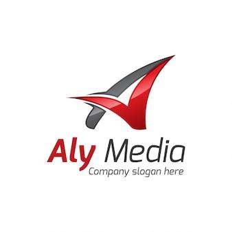 Stylish letter  a  logo
