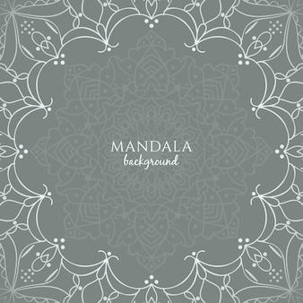 Stylish mandala design background