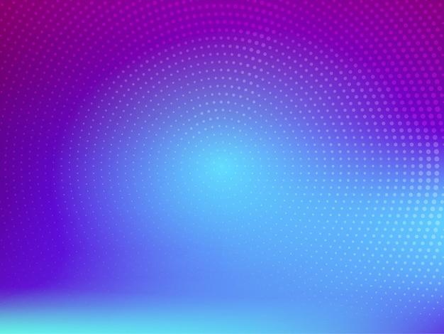 Stylish modern colorful halftone background vector