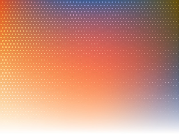 Stylish modern colorful halftone background