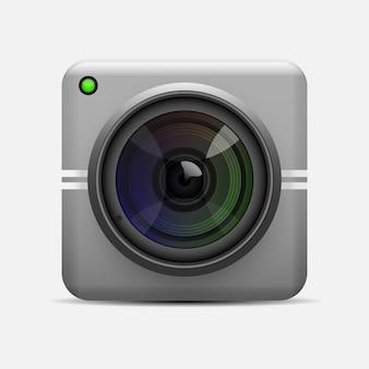 Stylish modern web cam design illustration