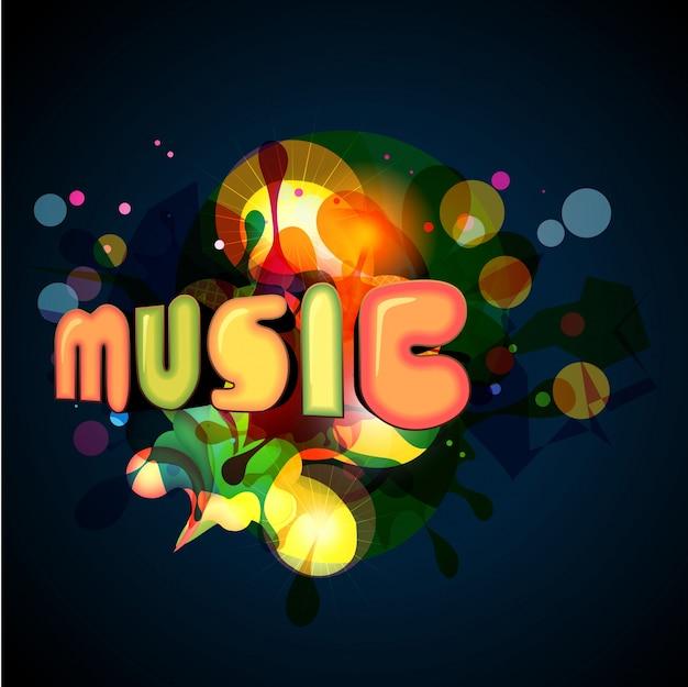 Stylish music background