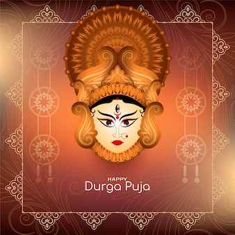 Stylish navratri and durga puja festival