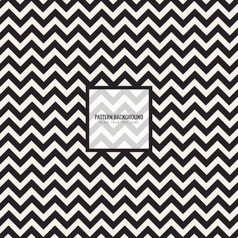 Stylish pattern with zig-zag lines