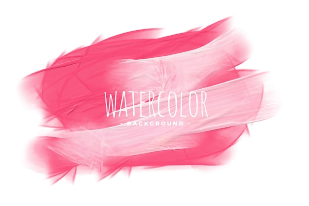 Stylish pink shade watercolor paint texture background