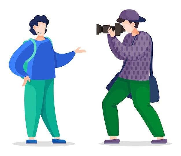 Стильная съемка профессионального фотографа