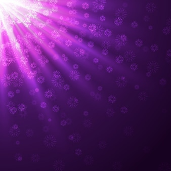 Stylish purple rays   background