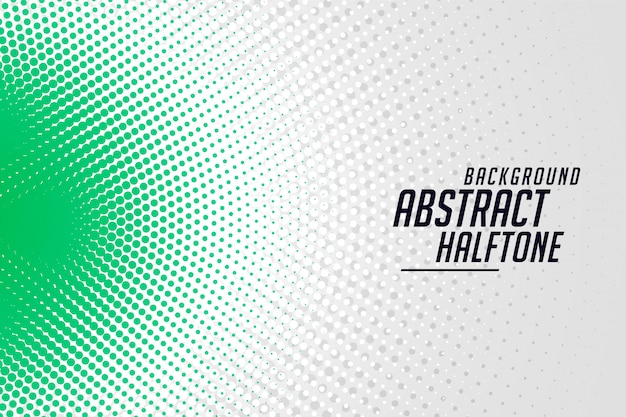 Stylish round halftone banner abstract background design
