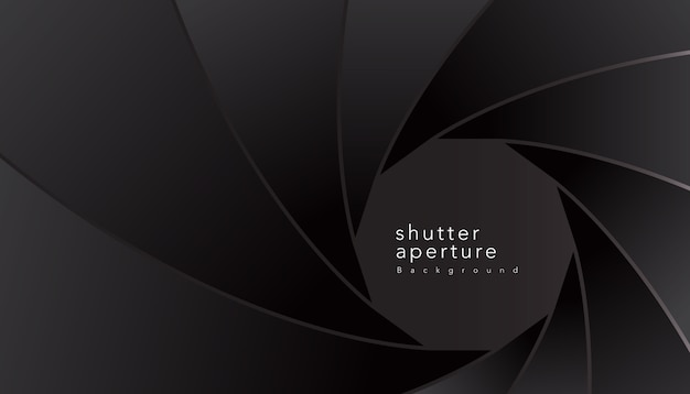 Stylish shutter aperture
