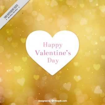 Stylish valentine background with bokeh effect