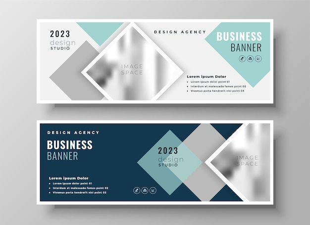 Stylish web business modern facebook cover or header template design