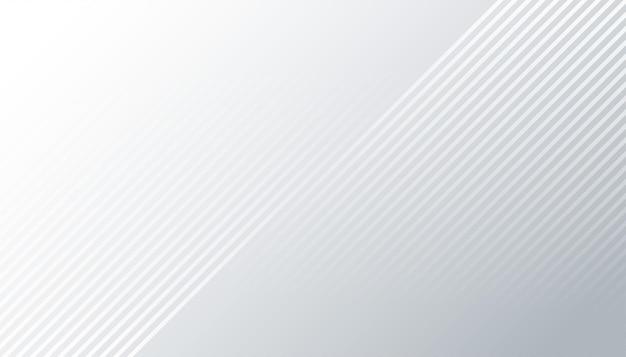 Elegante sfondo bianco con linee diagonali