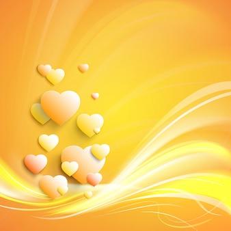 Стильное белое сердце