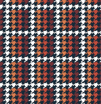 Stylish winter grid houndstooth in checkered form seamless pattern in vector, design for fashion, fabric, wallpaper, warpping and all graphic type