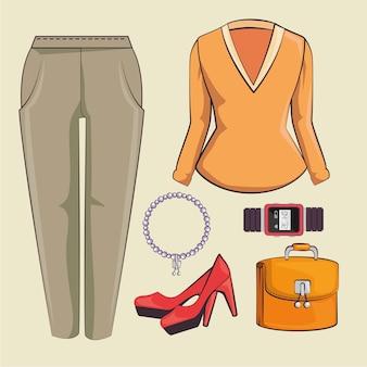 Стильные женские модные аксессуары