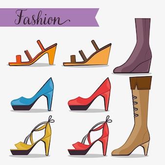 Stylish woman fashion accesories