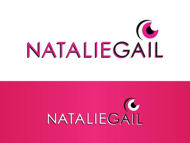 Stylist and wardrobe consultant logo design