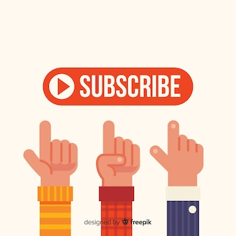 Subscribe concept