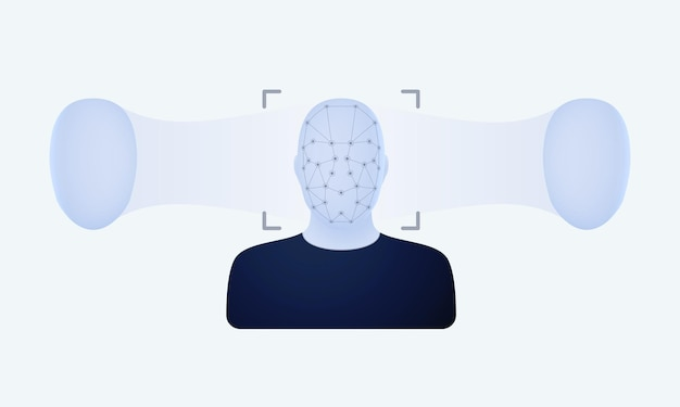 Substitution and reproduction of copies of the face with the help of deepfake