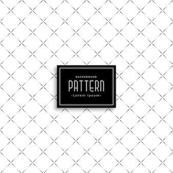미묘한 깨끗한 크로스 패턴 디자인