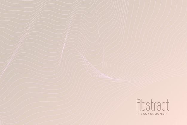 Subtle contour lines background design