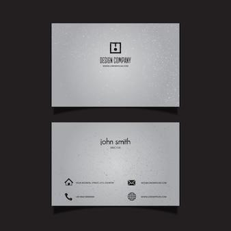 Subtle grunge business card