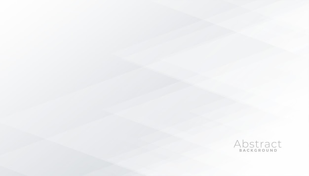 Sottile sfondo bianco con forme geometriche