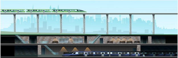 地下鉄と新しい近代都市