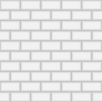 Subway brick tile wall.