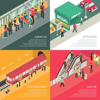 지하철 지하철 4 아이소 메트릭 아이콘 광장