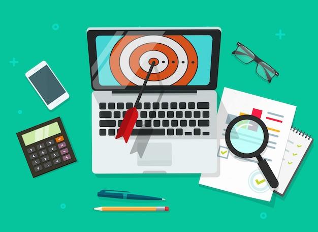 Successful business target achievement