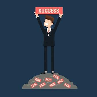 Successful businessman.