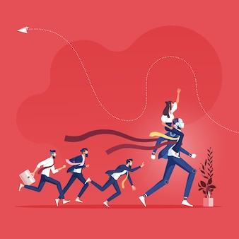 Успешная стратегия с недостатком ит-решения по сравнению с бизнес-конкурентами