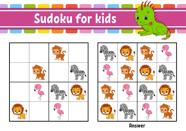 Sudoku for kids.