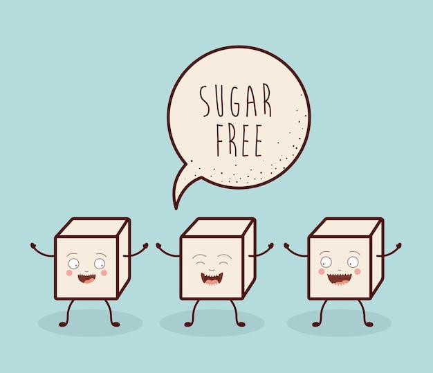 砂糖を含まない製品設計