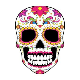Фестиваль сахарного черепа dia de muertos