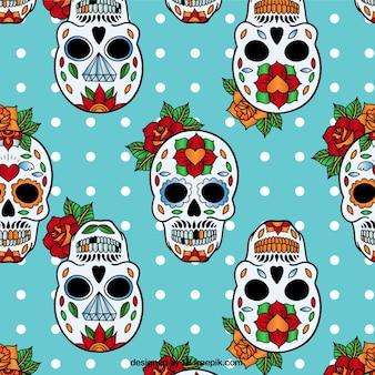 Sugar skulls pattern